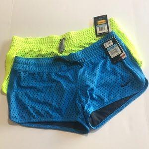 NWT- 2 Nike Dri-Fit shorts